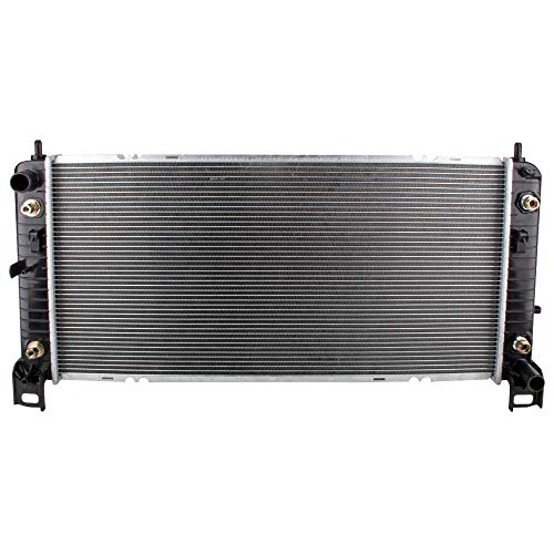 BOXI Radiator Replacement Assembly for 2002-2014 Cadillac Escalade/Chevrolet Avalanche Silverado Suburban Tahoe/GMC Sierra Yukon/Hummer H2 (4.3L 4.8L 5.3L 6.0L 6.2L V8) Replaces CU2370 15124631