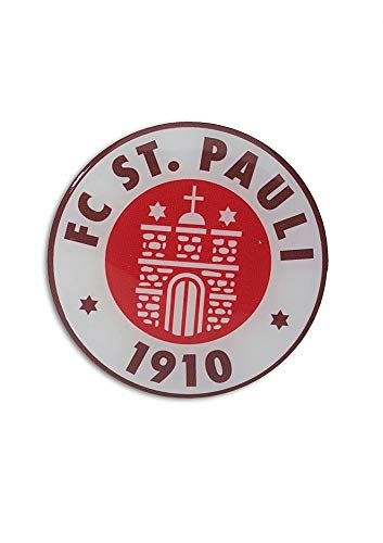 FC St. Pauli Kleber/Aufkleber ** Logo 3D **