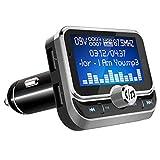 LeeQin Bluetooth FM Transmitter, Wireless Radio...