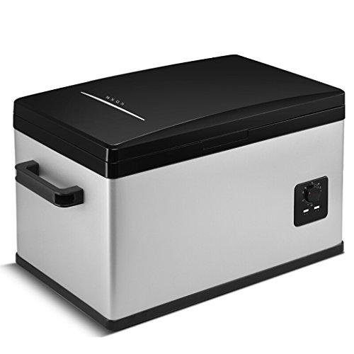 Fantastic Deal! Car Refrigerator Portable Compressor Fridge Freezer Car and Home are Available 12v/24v/220V (Color : Black, Size : 30L)