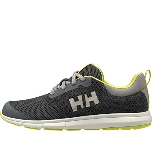 Helly Hansen W Feathering, Náuticos Mujer, Gris (Charcoal/Ebony/Off White 964), 38 EU