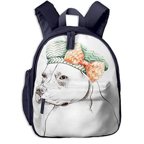 Kinderrucksack Kleinkind Jungen Mädchen Kindergartentasche Hundehut 45 Backpack Schultasche Rucksack