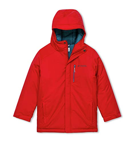 Columbia Jungen Ski-Jacke, Alpine Free Fall II, Rot (Mountain Red), L