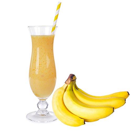 Banane Molkepulver Luxofit mit L-Carnitin Protein angereichert Wellnessdrink Aspartamfrei Molke (Banane, 1 kg)