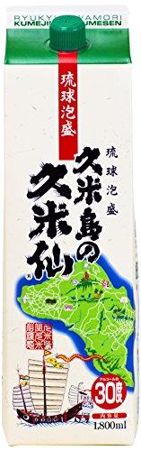 久米島の久米仙 パック [ 焼酎 30度 1800ml ]