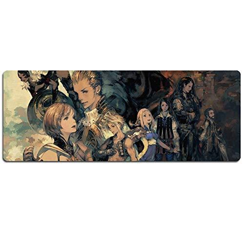 IGZNB Final Fantasy XXL Speed Gaming Mauspad | 900 X 400Mm | XXL Mousepad | Tischunterlage Large Size | Perfekte Präzision Und Geschwindigkeit,Emauspad