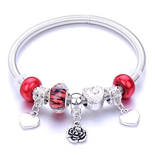 Pulseras Brazalete Joyería Mujer Pulsera De Abalorios Ajustable Joyería De Moda Regalo Señora Jewelry-22