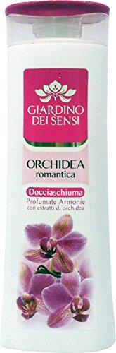 6 x Jardin des Sens Douche Mousse Orchidée Romantique 250 ml
