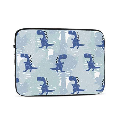 Laptop Sleeve Case 10 Inch Dino Blue Color Boy Laptop Sleeve/notebook Computer Pocket Case/tablet Briefcase Carrying Bag