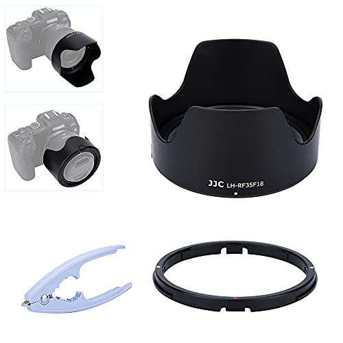 JJC - Parasol de lente de cámara tipo bayoneta para lente Canon...