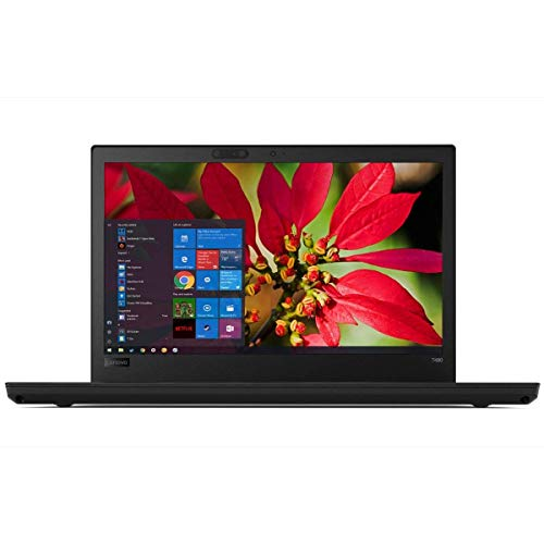 "2019 Lenovo Thinkpad T480 14"" Full HD FHD(1920x1080) Business Laptop (Intel 8th Gen Quad-Core i5-8250U, 8GB DDR4 RAM, 256GB PCIe M.2 SSD) Backlit, Thunderbolt 3 Type-C, WiFi, Windows 10 Pro - Black"