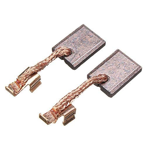 2 Pcs Carbon Brushes Fit for Makita CB-440 CB-436 18V BDF452 BHP454 Li-ion battery Drill 195021-6, 194427-5, 194159-4