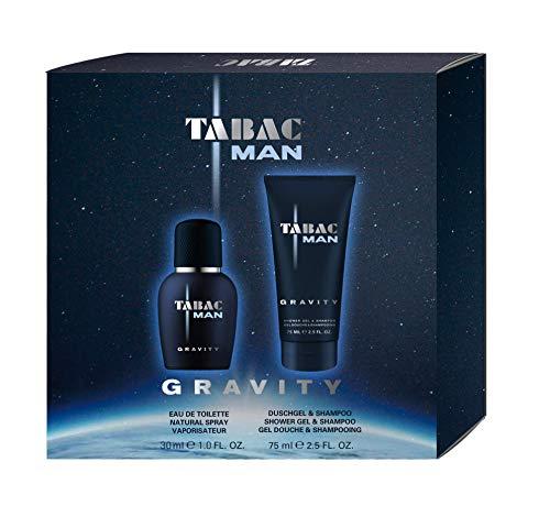 Tabac® Man Gravity I Geschenkset - markant, männlich, unverwechselbar I Eau de Toilette 30ml Natural Spray und Duschgel 75ml