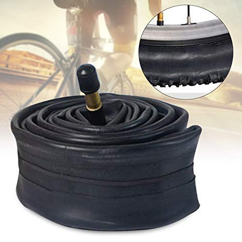 CHUNSHENN Bicycle Durable Butyl Rubber Wear Resistant Cycling Outdoor Bicycle Accessorizes Inner Tube 14 16 18 Series Shock Absorbing Road Bike Tire Wheel (Color : 16x1.5 1.75 AV)