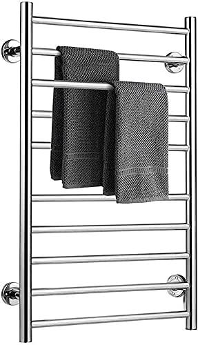 SENWEI Toallero calefactor, calentador de toallas, calentador de toallas eléctrico, fácil de...