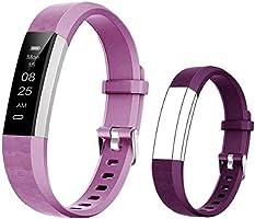 BIGGERFIVE Fitness Tracker Horloge voor kinderen jongens meisjes tieners, stappenteller, activiteitentracker,...