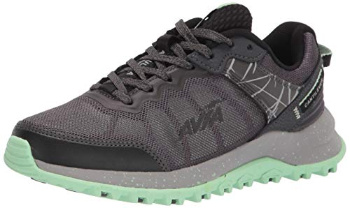 Avia Women's Avi-Ultra Trail Running Shoe, Magnet/Black/Green Ash, 9.5