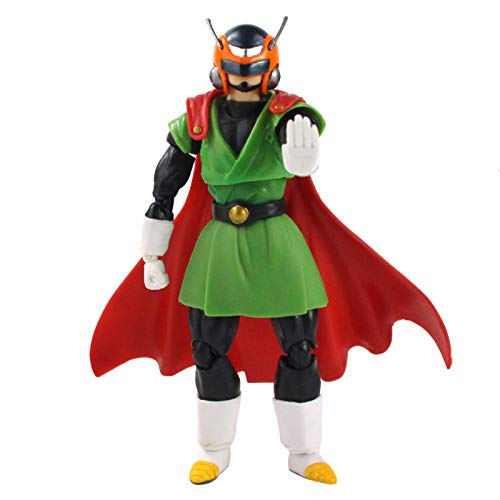 Yzoncd Anime Dragon Ball Z Super Saiyan Saiyaman Gohan SHF Movible PVC Figura De Acción Colección Modelo Juguete Regalo 14Cm