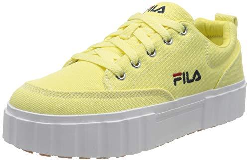 FILA Sandblast C wmn zapatilla Mujer, amarillo (Elfin Yellow), 38 EU