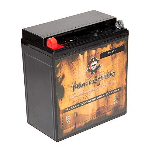 Chrome Battery YTX16-BS-1 lead_acid_battery