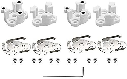 VSLIFE 4 pz/Set Base dell'elica Pad Motore Sostituzione Riparazione Pezzi di Ricambio/Adatto per DJI Phantom 4//Adatto per Phantom 4 PRO Drone Accessori (Colore : per Phantom 4) Durevole