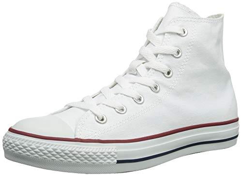 Converse Chuck Taylor All Star Hi Top, Zapatillas Unisex Adulto, Blanco (Optical White), 37 EU