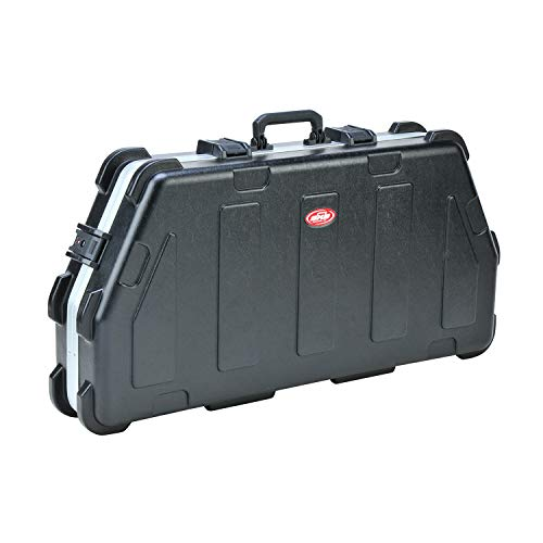 SKB Cases 2SKB-4119 Hard Exterior Waterproof ATA Single Parallel Limb Bow Utility Carrying Case, Black