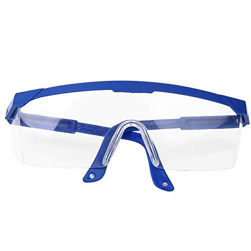 Beschermende bril, 10 stuks Antiroest Anti-Impact Sport Winddichte veiligheidsbril voor doe-het-lab.(Blauw)