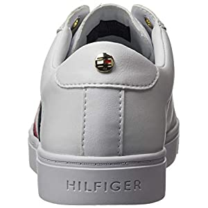 Tommy Hilfiger Venus 39a, Sneakers Mujer, Blanco, 36 2/3 EU