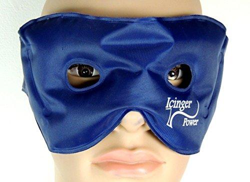 Preisvergleich Produktbild Warm-Kalt-Augenmaske mit Gel-Kugeln zum Entspannen der Augen und auslaufsicherer Nylon-Hülle