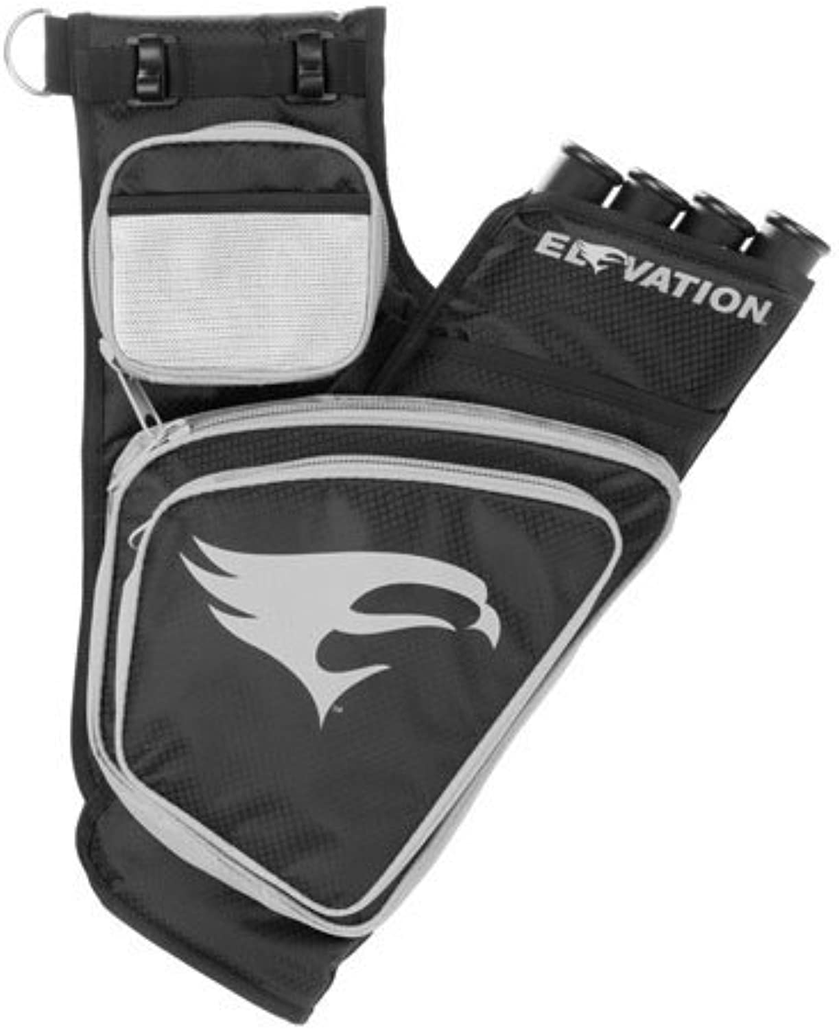 Omp Elevation Trasition Hip Quiver Black Silver Right Hand