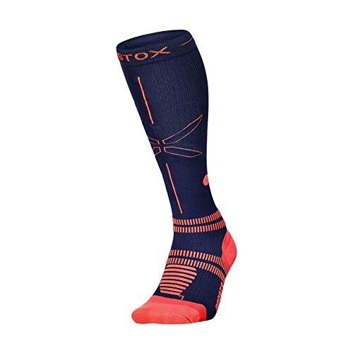 STOX Energy Socks | Sportsocken für Herren | High-Tech Kompressionsstrümpfe | Verletzungen und Muskelkater vorbeugen | Keine müden Beine | Extra Komfort | Gepolsterter Verse