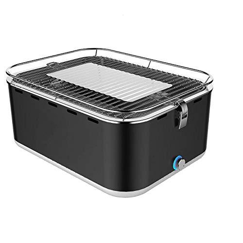 barbecue a carbonella quadrato Barbecue quadrato portatile a carbonella