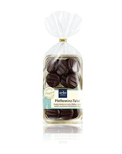 Arko Pfefferminz-Taler, Zartbitter-Schokolade, 150 G