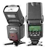 Meike MK430 TTL LCD Flash Speedlite Compatible with Canon DSLR Camera EOS 70D 77D 80D Rebel T7i T6i T6s T6 T5i T5 T4i...