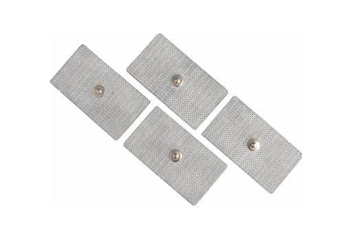 Fiab Spa Pg473 Elettrodi Riposizionabili per Elettrostimolazione, Rettangolari, 45Mm X 80Mm