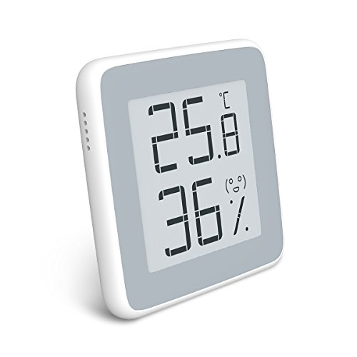 Homidy Hygrometer Digital Thermometer Innen,E-Ink HD Display Digital Thermo-Hygrometer innen Feuchtigmesser …