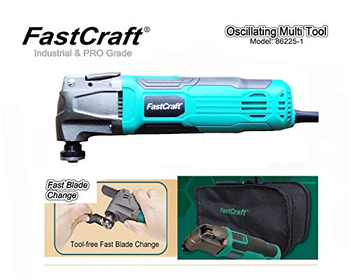 Find Discount Industrial & PRO Grade FastCraft Oscillating Multi Tool (86225-1 Corded) Constant Powe...