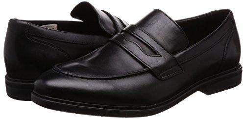Clarks Men's Banbury Step Slip on Leather Formal Shoes
