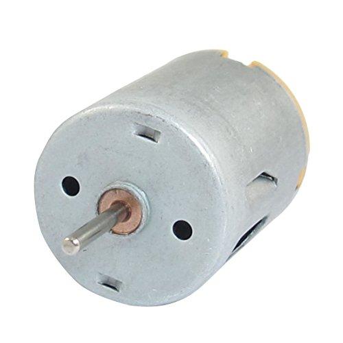 DC Motor - SODIAL(R)8000 RPM 9V 68mA Hohem Drehmoment magnetisch Zylindrische Mini DC Motor Silber