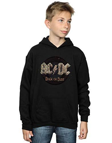 AC/DC niños Rock Or Bust Capucha 9-11 Years Negro