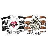 Bestchong Lot de 2 bracelets en ...