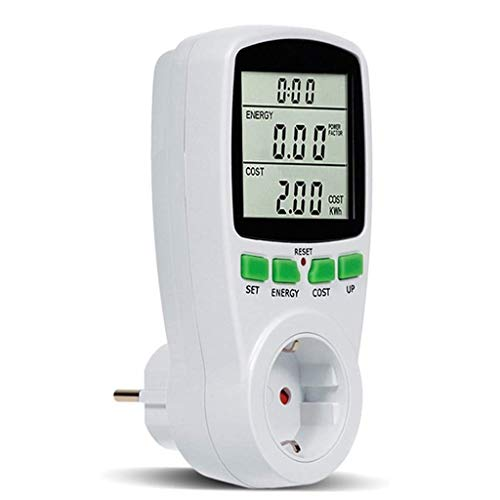 Power Meter, Lyperkin Digital Power Monitor, Electricity Usage Monitor Intelligent Power Meter Monitor