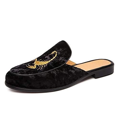 XYAL0003001 Xingyue vleugelsandalen voor heren, casual sneakers, zonder veters, van suède OX met getailleerde schoenen, pure kleuren, borduurwerk boven