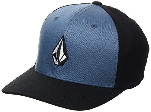 Volcom Herren Full Stone Xfit Baseball Cap, Blau-Horizon Blue, S/M