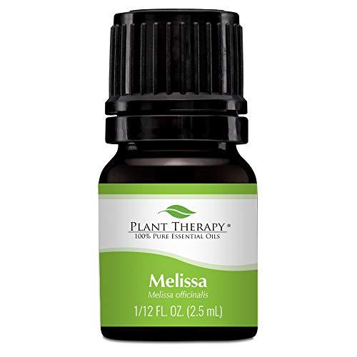 Plant Therapy Melissa Essential Oil 2.5 mL (1/12 oz) 100% Pure, Undiluted, Therapeutic Grade