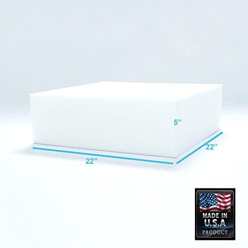 "Foamma 29/"" x 29/"" High Density Upholstery Foam New Cushion Replacement"