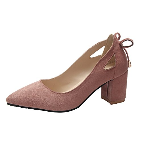 YEARNLY Damen Klassische Pumps mit Pfennigabsatz Basic Flandell