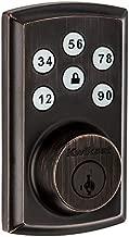 Kwikset 98880-005 SmartCode 888 Smart Lock Touchpad Electronic Deadbolt Door Lock with Z-Wave Plus Featuring SmartKey Security in Venetian Bronze
