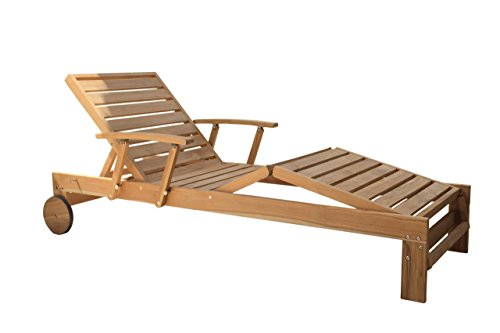 GraSEKAMP kwaliteit sinds 1972 teak ligstoel ligstoel zonnestoel relaxstoel tuinmeubelen